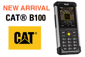 New: Cat B100 arrives the week.